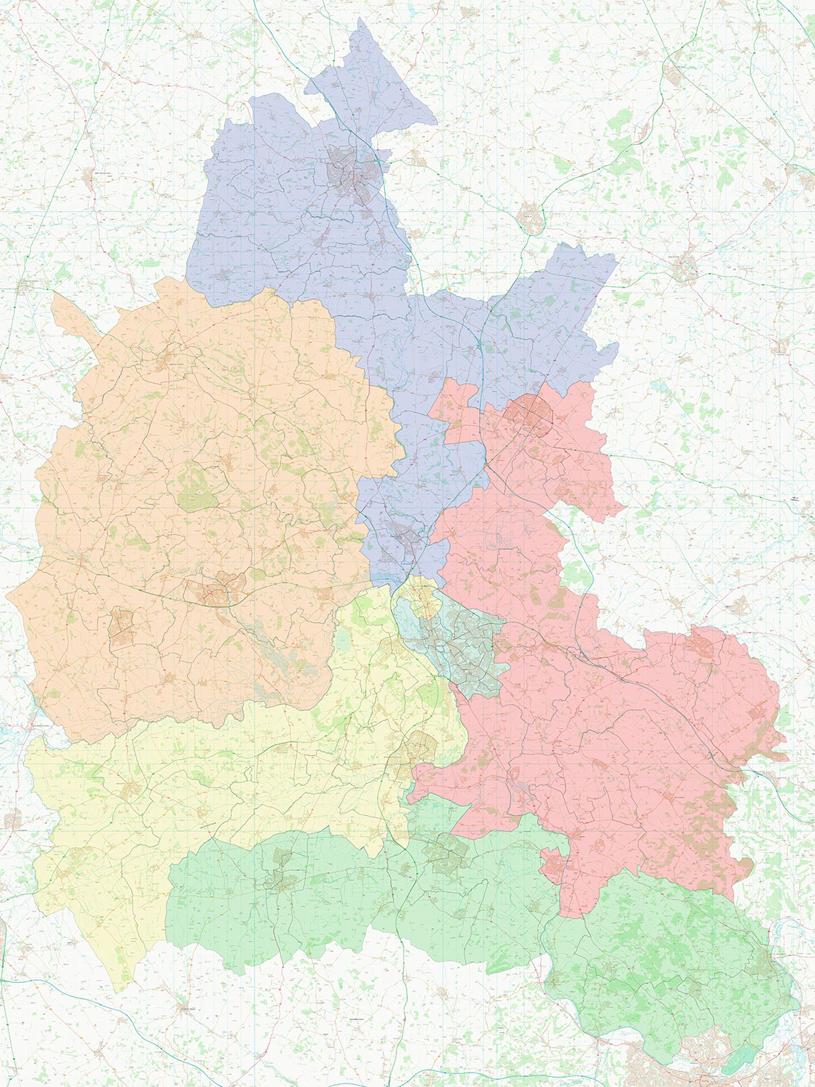 Map of Oxfordshire Proposal